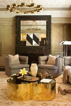 Regal and Luxurious - ELLEDecor.com