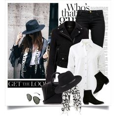 Way to wear a fringe jacket by yexyka on Polyvore featuring polyvore, fashion, style, rag & bone, MuuBaa, J Brand, Givenchy, La Fiorentina, Ray-Ban and clothing