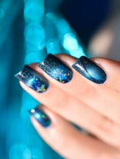 NAIL ART GALAXIE MAGNETIC