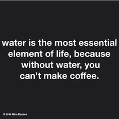 Love drinking my water .after my coffee! Love drinking my water .after my coffee! 💦 ☕️ Thank you Renee Raven for this! Coffee Talk, Coffee Is Life, I Love Coffee, Coffee Coffee, Coffee Break, Coffee Lovers, Caribou Coffee, Espresso Coffee, Black Coffee