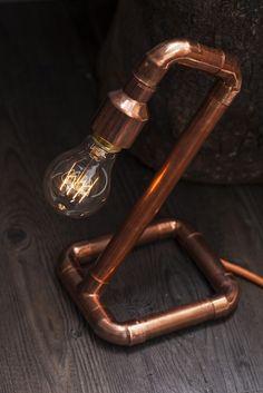 copper pipe lamp - Pesquisa Google