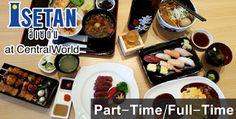 เปิดรับสมัครงานร้านอิเซตัน, งานร้านอาหารญี่ปุ่น, งานพาร์ทไทม์, งานฟลูไทม์ร้านอาหาร,