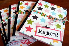 Paper covered notebooks - love it!!