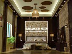 Modern pop false ceiling designs for luxury bedroom 2015, bedroom ceiling ideas