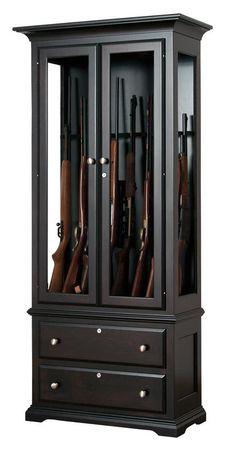 Awesome American Furniture Classics 16 Gun Metal Cabinet