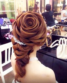 A hairstyle that you can't do it this is a challenge