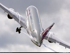 Qatar Airways  Boeing 787-8DZ Dreamliner  (airliners.net)
