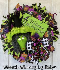 Halloween Wreath, Fall Wreath, Witch Wreath, Fall Wreath, Halloween Decor, Witch Decor, Halloween Party, Halloween Door Halloween Door, Halloween Skeletons, Halloween Design, Halloween Party, Halloween Wreaths, Witch Wreath, Wreath Fall, Skeleton Decorations, Halloween Decorations