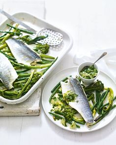 A fresh, low-carb and low-calorie recipe that's bursting with flavour from herbs, lemon and capers.