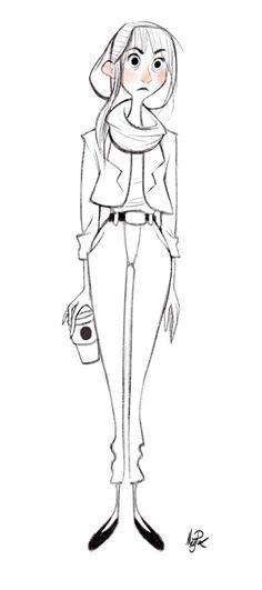 Meg Park - Character Design Page