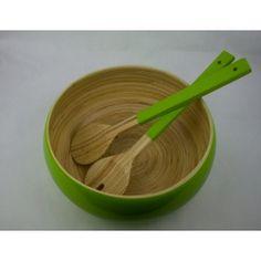 Kit Saladeira Bamboa Verde