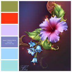 Floral Hues