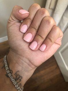 Sns bubble bath opi - New Ideas Sns Nails, Cute Nails, Pretty Nails, Short Square Acrylic Nails, Short Gel Nails, Best Acrylic Nails, American Nails, American Manicure Nails, Hair And Beauty