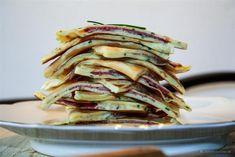 gefüllte Kräuter-Flädle, schwäbische Küche