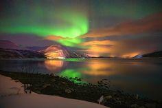 Aurora over Furuflat