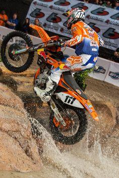 Taddy Blazusiak KTM Extreme Enduro. KTM 350 EXC-F