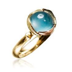 Statement ring - eg. Ole Lynggaard, Lotus rings