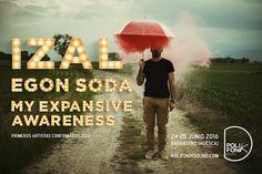 ¡Aquí están nuestros primeros artistas para PolifoniK Sound 2016! Izal , Egon Soda y My Expansive Awareness