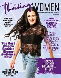 October Issue of Thriving Women Magazine. Free Magazine for women who are wanting to grow personally and professionally. Articles for #business, #money, #mindset, #spirituality, #wellbeing, and #recipes. #womenmagazine #magazine #magazinecover #magazinelayout #magazinespread #entrepreneurmagazine #entrepreneurdigitalmagazine #entrepreneurship #entrepreneurs #womeninbusiness #mompreneurs #workfromhomemoms Entrepreneur Magazine, Creating Passive Income, Twitter Tips, Free Magazines, Change Your Mindset, Business Women, Business Tips, Digital Magazine, Work From Home Moms