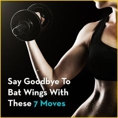"Go from flab to fab arms with these 7 exercises, designed to tone and tighten your triceps so those dreaded ""bat wings"" are a thing of the past."