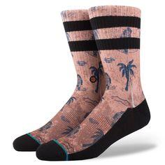 Stance Surfin Monkey Rust Men's Sock