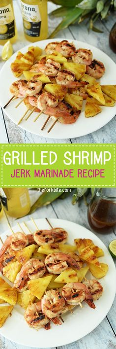 grilled shrimp skewers - It's a great addition to a barbecue, but is so simple, you can use it to make any day a special celebration.