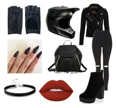 """BaD gIrL"" by pamela-m-z on Polyvore featuring moda, Superdry, Topshop, New Look, Rebecca Minkoff, Zanellato y Lime Crime"