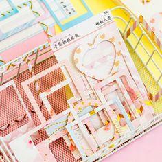 46Pcs Travel Around The World Mini Sticker Diy Scrapbooking Sticker Station OX