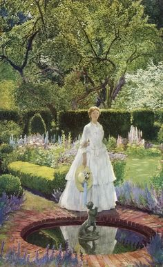 Eleanor Fortescue-Brickdale  (1871-1945) was a well respected illustrator and painter