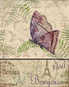 I uploaded new artwork to fineartamerica.com! - 'Vintage Wings-paris-i' - http://fineartamerica.com/featured/vintage-wings-paris-i-jean-plout.html via @fineartamerica