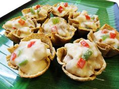 EASY TO MAKE APPETIZER. Chicken A la Queen Toast Cups. Photo courtesy of Rachel Alejandro