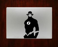 Flash Super Heroes Macbook Pro / Air 13 Decal Stickers