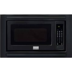Frigidaire FGMO205K 2 Cubic Foot Built-In Microwave with 1,200 Watts, Effortless Reheat and One-Touch Options from the Gallery (White)