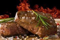 Receita de T- bone steak (para churrasco