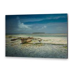 Tablou Pe Suport Rigid Simplu - Boat To Seashore Mac, Photoshop, Waves, Artist, Painting, Outdoor, Outdoors, Artists, Painting Art