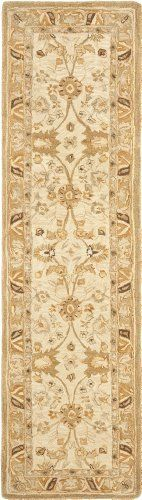 Safavieh Anatolia Collection AN558B Handmade Silver and Light Brown Hand-Spun Wool Area Runner, 2 Feet 3 Inch by 8 Feet by Safavieh. $143.00. 100% Wool. This runner measures 2-feet 3-inch x 8-feet. The handmade, hand-tufted construction adds durability to this rug, ensuring it will be a favorite for many years. Each rug is handmade with premium, hand-spun wool. This traditional, oushak style rug will give your room an elegant accent. This rug features a silver bac...