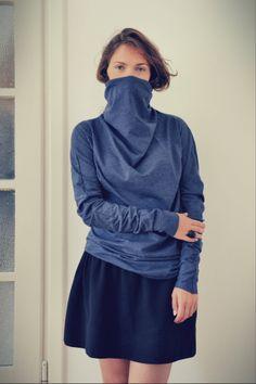 bandana sweatshirt