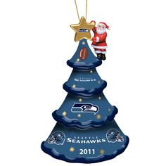 2011 Annual Seattle Seahawks Ornament - The Danbury Mint