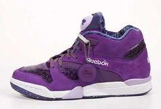 "Reebok to release Purple Rain ""inspired"" kicks Purple Sneakers, Purple Shoes, Purple Bags, Girls Sneakers, Sneakers Fashion, Fashion Shoes, High Top Sneakers, Purple Jewelry, Mauve"