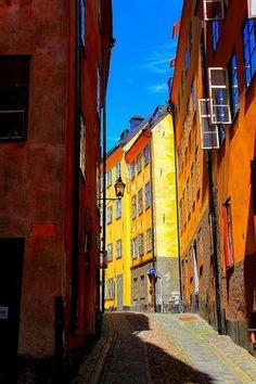 Улочка Стокгольма.Descartes.1596