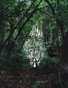 Aimee Brodeur and Michael Barker. Site specific installation. 2009 (www.aimeebrodeur.com)