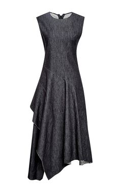 Twisted Twill Denim Dress by Marni Now Available on Moda Operandi