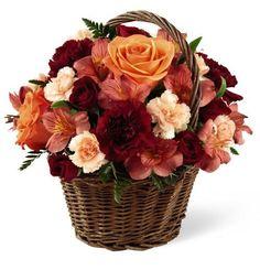 Rustic Floral Basket