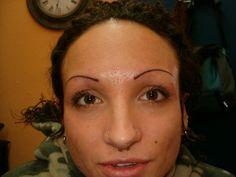 Pin Eyebrow Tattoo on Pinterest Lip Liner Tattoo, Eyebrow Tattoo, Primer Cosmetics, Semi Permanent Eyebrows, Eyelash Tinting, Winged Eyeliner Tutorial, Brow Wax, Makeup Tattoos, Microblading Eyebrows