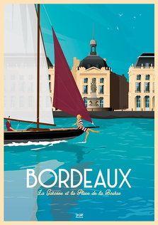 Doz affiches vintage illustrations touristiques néo rétro Paris Illustration, Travel Illustration, Urban Sketching, City Art, Vintage Travel Posters, Surfing, Modern Retro, Retro Style, Tourism