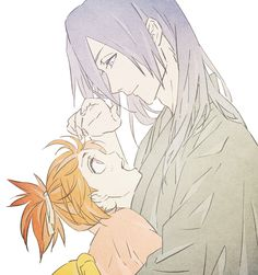 Ichika and uncle Byakuya #Bleach