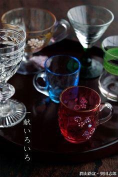 好きなグラスで日本酒を一献。和食器の愉しみ 工芸店ようび | 和食器の愉しみ 工芸店ようび