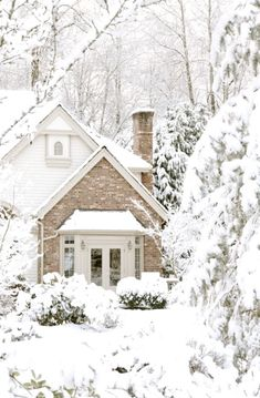 winter wonderland...would love to be there right now...snowed in with just Mike...