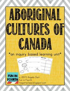 Do you teach Social Studies in Canada? Do you teach about Aboriginal Cultures? You need this file! It contains a variety of activities to meet your curriculum (especially if you teach grade 4 in British Columbia)! Aboriginal Education, Indigenous Education, Aboriginal Culture, Indigenous Art, Social Studies Curriculum, Teaching Social Studies, Teaching Resources, Paul Klee, Canadian Social Studies