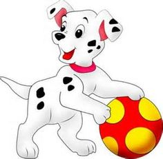 Dalmatians Puppy Clip Art - Disney And Cartoon Baby Images Disney Cartoon Characters, Disney Cartoons, Disney Dogs, Baby Disney, Cute Cartoon Wallpapers, Cartoon Images, Painting & Drawing, Christmas Yard Art, Disney Images